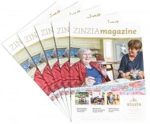 Zorg magazine Zinzia Zorggroep Wageningen