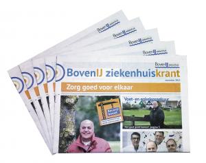 Zorg krant BovenIJ ziekenhuis Amsterdam-Noord