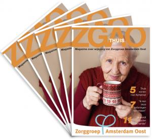 Zorg magazine Zorggroep Amsterdam Oost