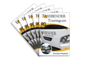 Bedrijfspresentatie magazine Fassbender Touringcars
