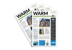 Energie-krant 'WARM' ATAG Verwarming